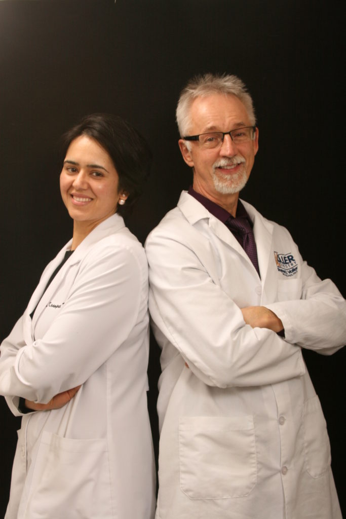Photo of Dr. Voller and Dr. Kaur